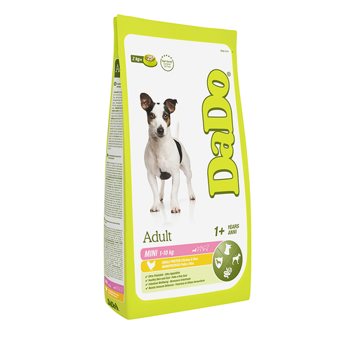 DADO ADULT MINI BREEED CHICKEN & RICE 2 KG